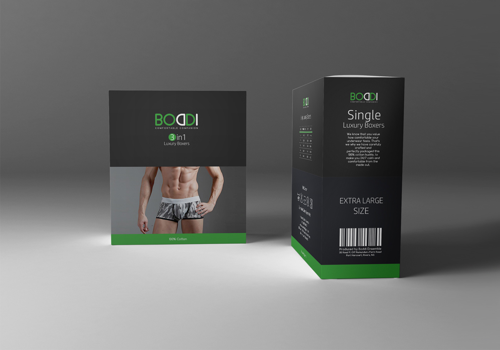 Boddi Product Package