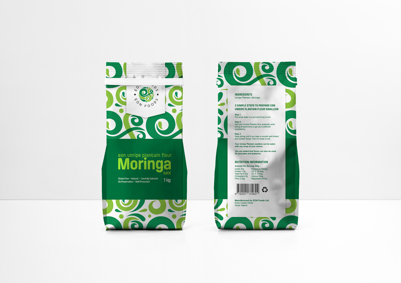 EON Foods Packaging - Moringa Mix